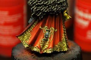 freehand peinture figurine